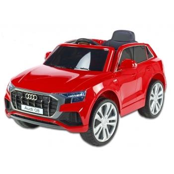Elektrické auto Audi Q8 s 2,4G DO, červená