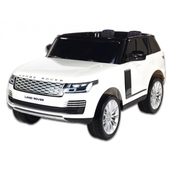 Elektrické autíčko Range Rover HSE s 2.4G, náhonem 4x4, lakovaný bílý