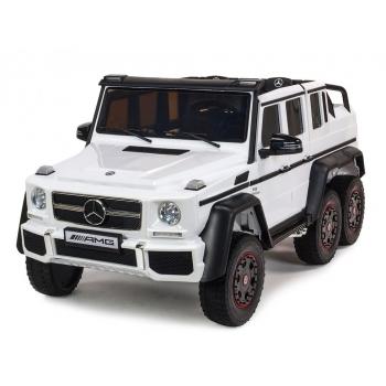 Elektrické autíčko Mercedes G63 AMG s 2,4G, 4x4, bílý