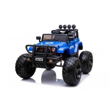 Wrangler Monster Truck s 2,4G na obrovských kolech, 2x200W/24V, modrý