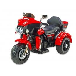 Dvoumístná motorka Big Chopper, červený