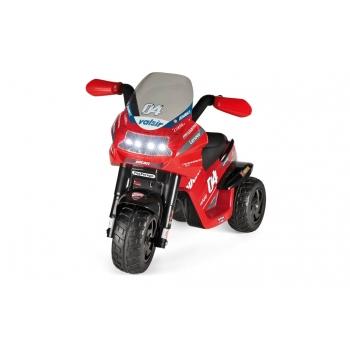 Elektrická tříkolka Peg-Pérego Ducati Evo, červená