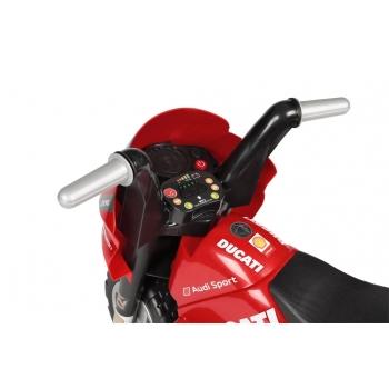 Elektrická tříkolka Peg-Pérego Ducati, červená