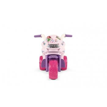 Elektrická tříkolka Peg-Pérego, Ducati Mini Fairi, růžová