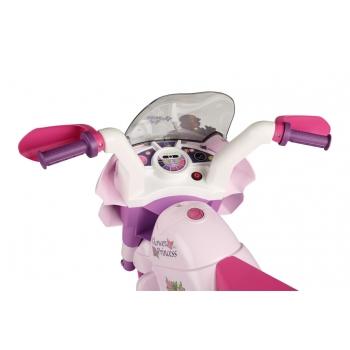 Elektrická tříkolka Peg-Pérego, Raider Princess, růžová