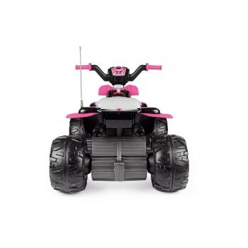 Elektrická čtyřkolka Peg-Pérego, Corral T-Rex 330W, růžová