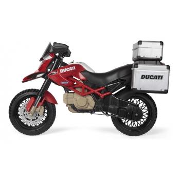 Elektrická motorka Peg-Pérego, Ducati Enduro, červená
