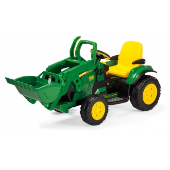 Elektrický traktor Peg-Pérego, John Deere Ground Loader, zelený