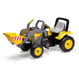 Dětský šlapací traktor Peg-Pérego, Maxi Excavator, žlutý