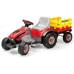 Dětský šlapací traktor Peg-Pérego, Mini Tony Tigre, červený