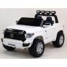 Dětské elektrické auto Toyota Tundra, střední velikost, dvoumístná, bílá