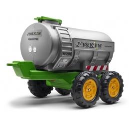 Vlek za traktor Joskin Maxi, 4 kolový, s cisternou