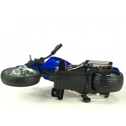 Elektrický Chopper Route 66, lakovaný modrý