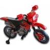 Dětská elektrická motorka crosska 6V, červená