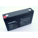 Gelová nabíjecí baterie pro elektrická autíčka 6V - 7Ah / 20HR