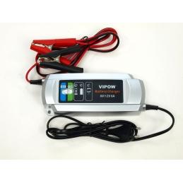 Plně automatická nabíječka všech typů 6V a 12V baterií s kapacitou 12-150 Ah