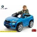 Dětské elektrické autíčko BMW X6 M, 2.4 bluetooth DO, 12V, černá metalíza