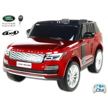 Dětské elektrické autíčko SUV Land Rover - Range Rover HSE 4x4 dvoumístný vínová metalíza
