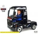 Dětské elektrické autíčko tahač Mercedes-Benz Actros 4x4 černá metalíza