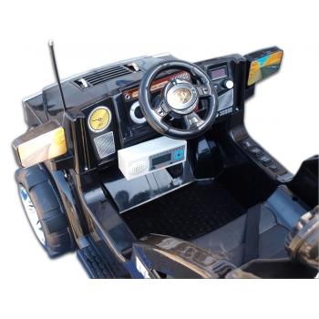 Elektrický džíp Humvy jednomístný, černá