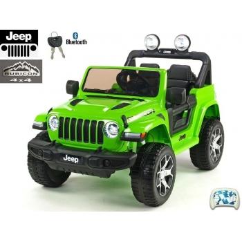 Elektrický Jeep Wrangler Rubicon, zelený lak