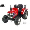 Největší elektrický traktor Big Farm, žlutý