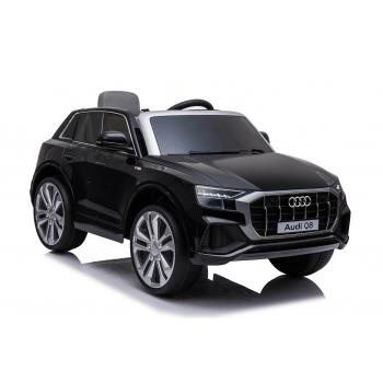 Elektrické auto Audi Q8 s 2,4G DO, černá