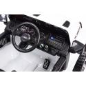Elektrický Jeep Wrangler Rubicon, černý lak