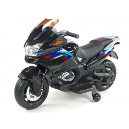Elektrická dvoumístná motorka Topspeed, černá