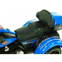 Dvoumístná motorka Big Chopper, modrý