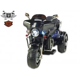 Dvoumístná motorka Big Chopper, černý