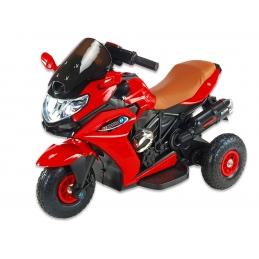 Motorka Dragon s plynovou rukojetí, gumová nafukovací kola, červená