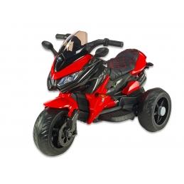 Cestovní motorka BNM s plynovou rukojetí, EVA kola, červená